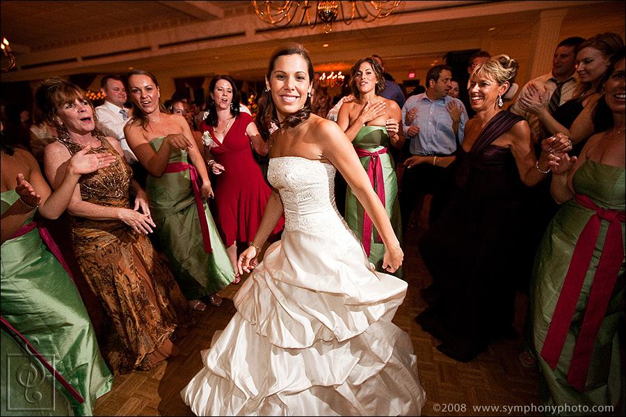 Wedding dress by Julie Allen Bridals