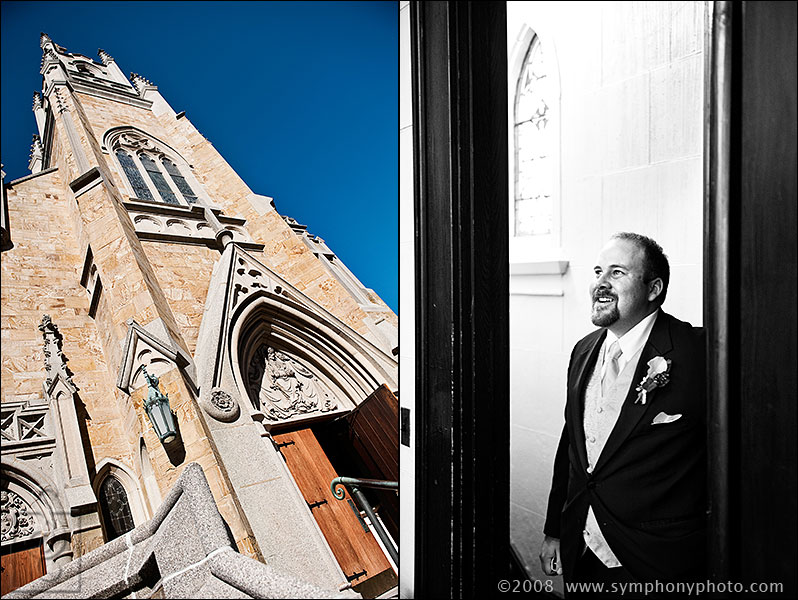 Wedding at Sacred Heart Parish in Concord, NH