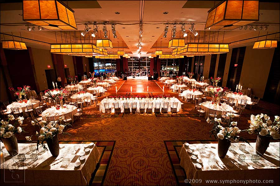 Wedding Reception At The Intercontinental Hotel In Boston Ma