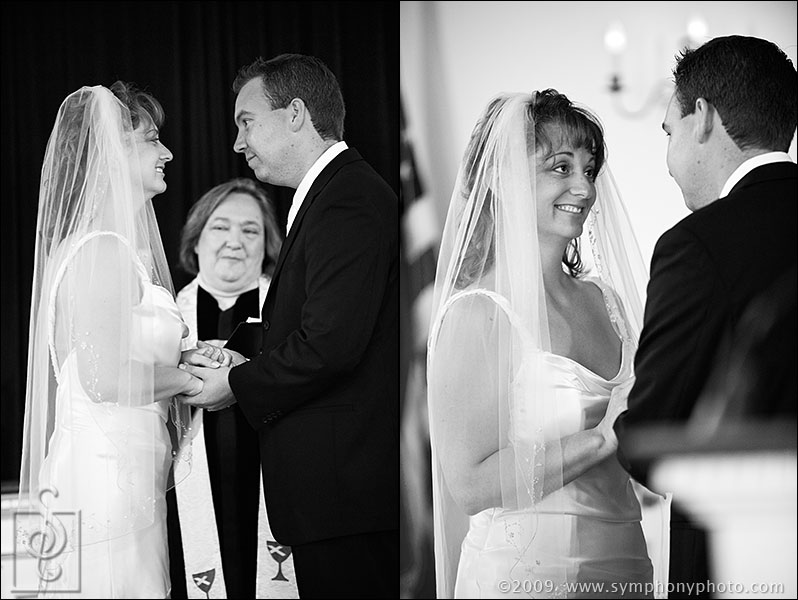 Ring exchange and vows - South Chatham Community Church - South Chatham, MA