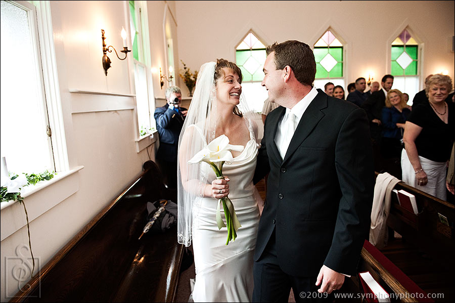 Recessional at the South Chatham Community Church in South Chatham, MA