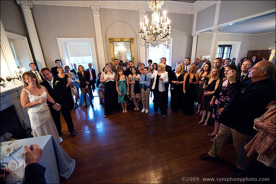 Main ballroom at the Lyman Esate
