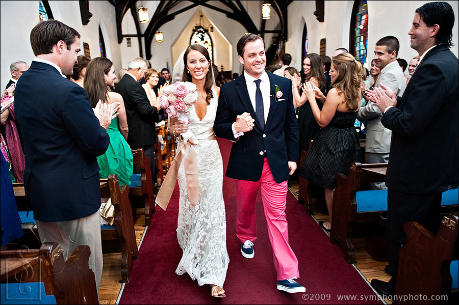 Wedding at St. Thomas Episcopal Church