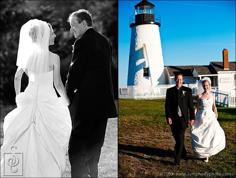 Pemaquid Point Lighthouse weddings