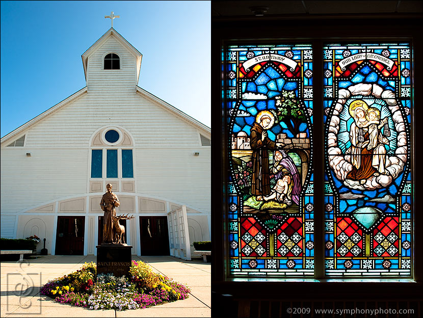 Weddings at St. Francis Church Dracut, MA