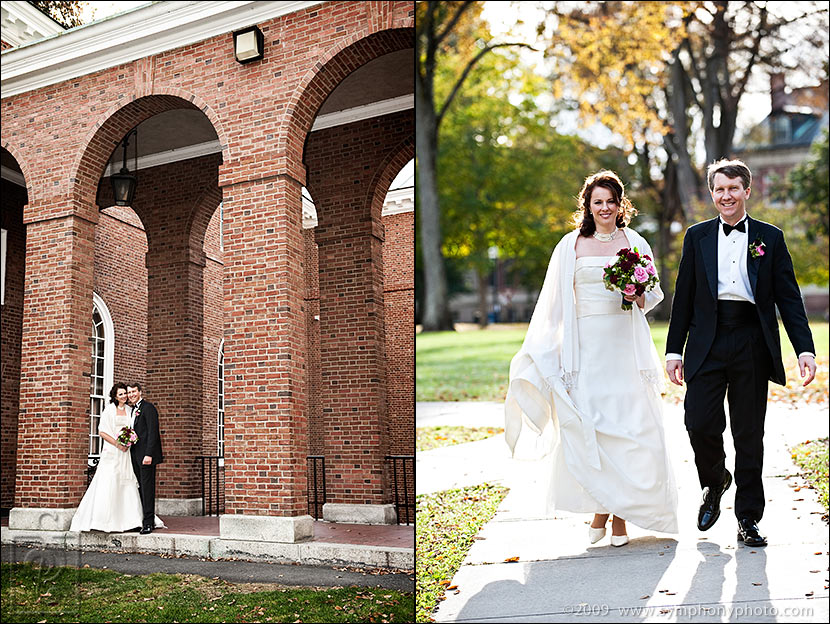 Wedding at Dartmouth College