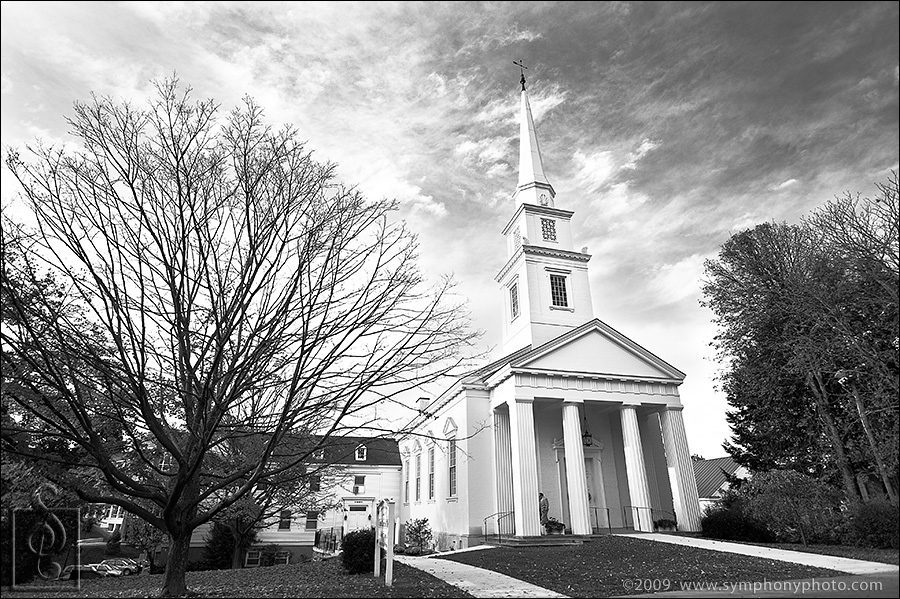 Church of Christ wedding Dartmouth, Hanover, NH