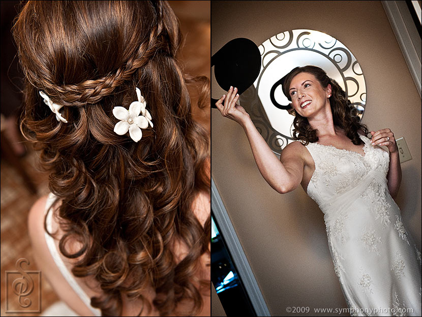 Boston wedding hair stylist