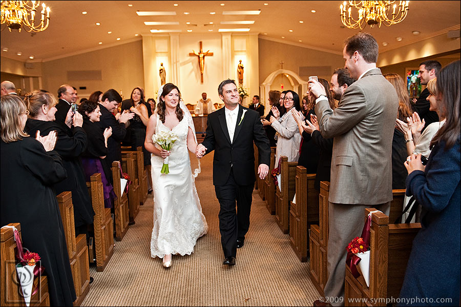 Saint Elizabeth Parish wedding - Falmouth, MA