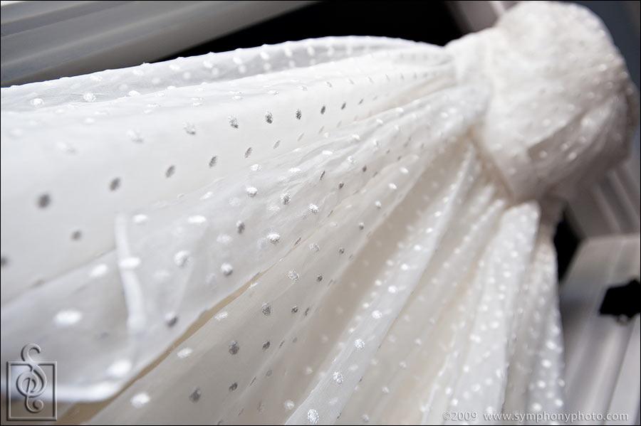 Wedding dress designed by Christos Bridal