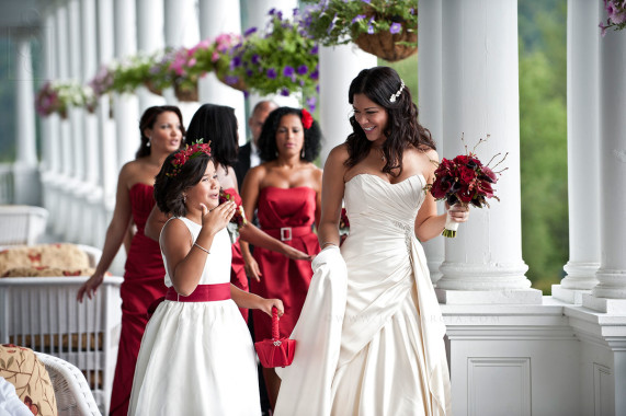 Mt. Washington Hotel Wedding - Bretton Woods, NH