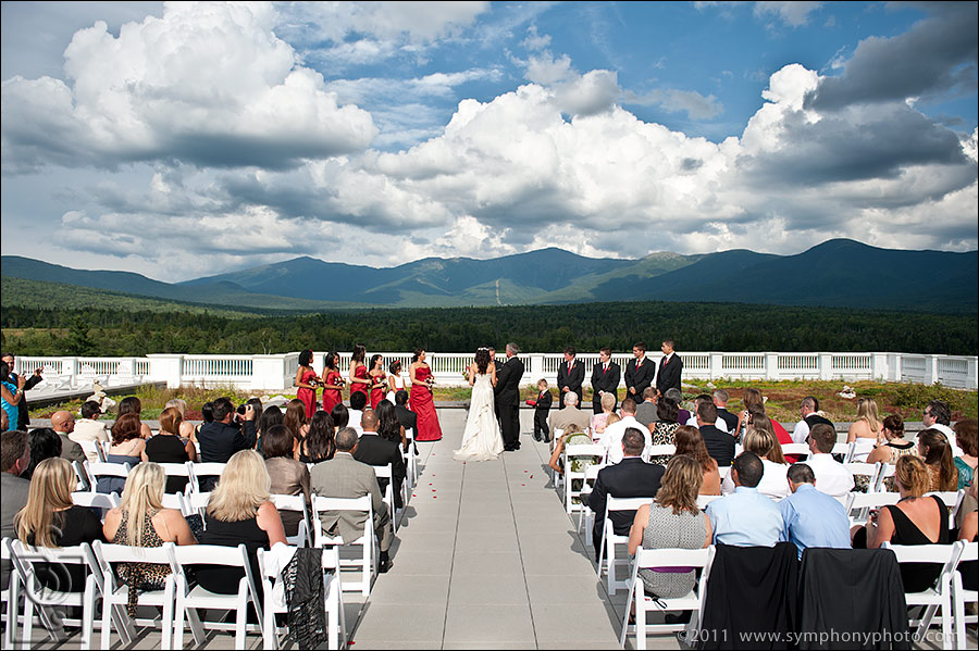 Jewell Terrace Wedding at the Mount Washington Hotel