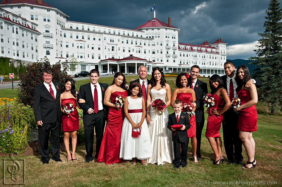 Wedding photograper Mount Washington Hotel