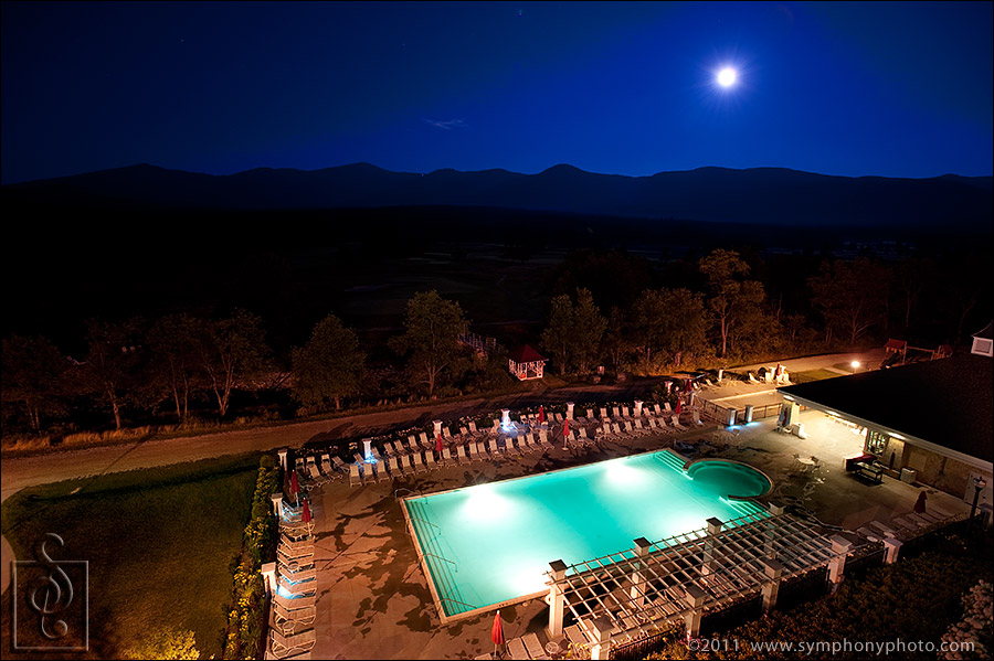 Pool at the Mt. Washington Hotel and Resort in Bretton Woods, NH