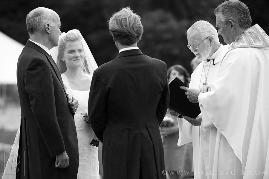 Farm wedding in NH
